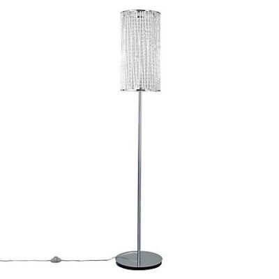 Emilia Crystal Drum Floor Lamp Design