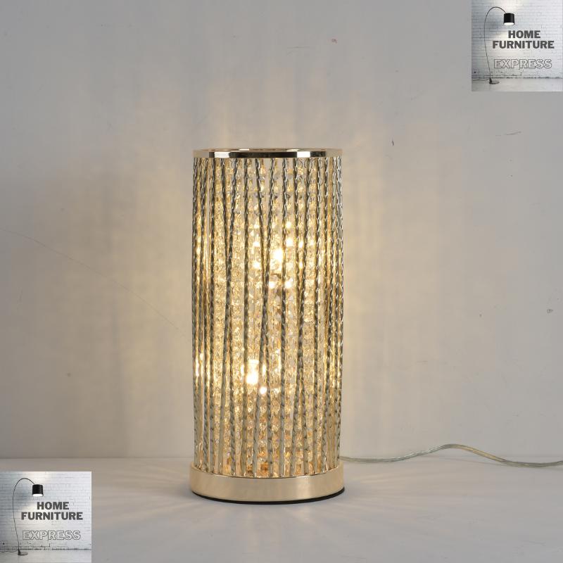 Emilia Design Large Table Lamp, Clear