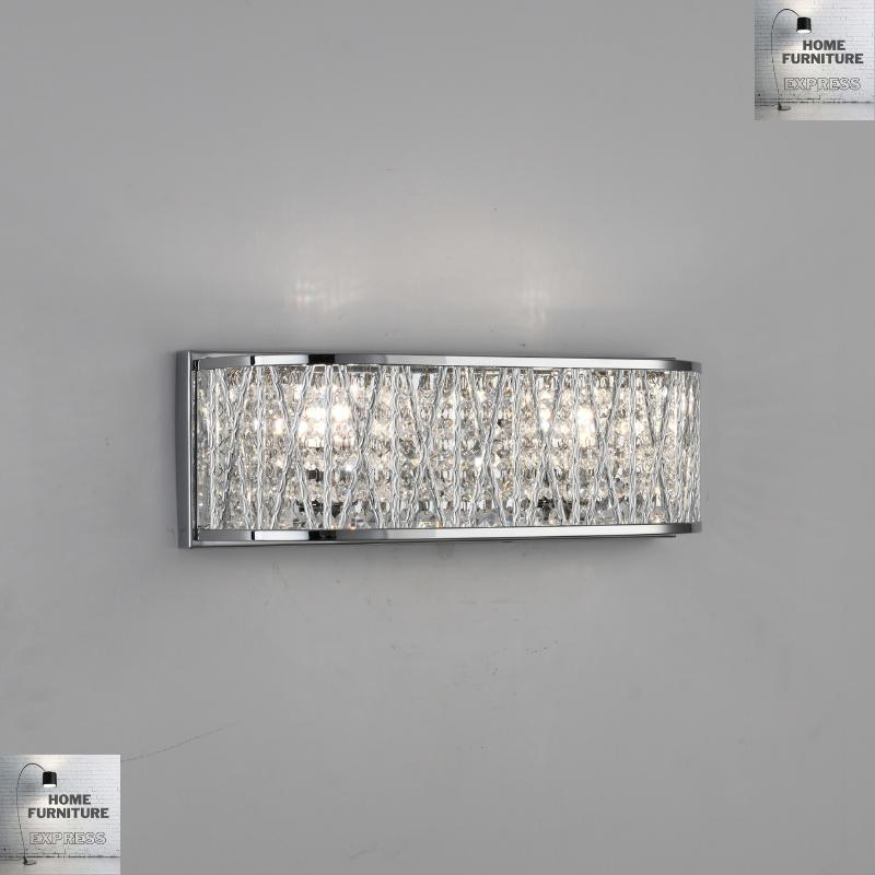 Emilia Design Crystal Drum Wall Light Gold